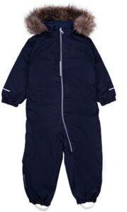 NMMSNOW08 SUIT SOLID FO - Jacken - männlich dunkelblau Gr. 80 Jungen Kinder