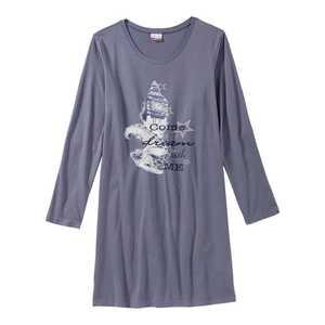 Damen-Nachthemd mit Big-Ben-Frontaufdruck