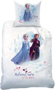 Die Eiskönigin 2 - Kinderbettwäsche - 2-teilig - Decke 135 x 200 cm, Kissen 80 x 80 cm