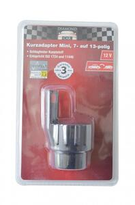 Diamond Car Kurzadapter Mini 12V, 7- auf 13-polig