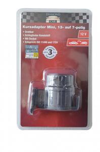Diamond Car Kurzadapter Mini 12V, 13- auf 7-polig