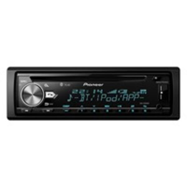 Pioneer DEH-X5900BT Autoradio, CD-Tuner mit Bluetooth, USB-/AUX-Eingang, Spotify-Steuerung für iPhone und Android-Smartphones, 1-DIN