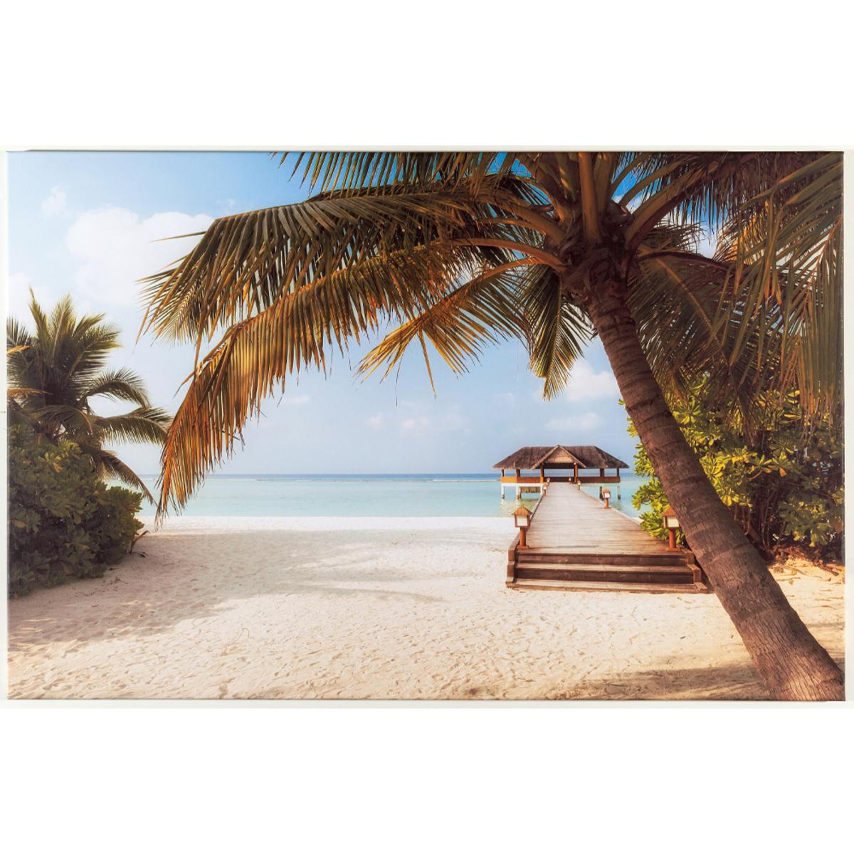 Bild 1 von Bella Casa XXL-Kunstdruck, ca. 75 x 115 cm - Palmen
