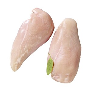 Frisches Hähnchenbrustfilet natur, Teilstück, je 1 kg