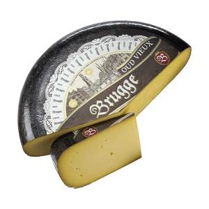 Brugge alt Belgischer Schnittkäse, 12 Monate gereift 50 % Fett i. Tr., je 100 g
