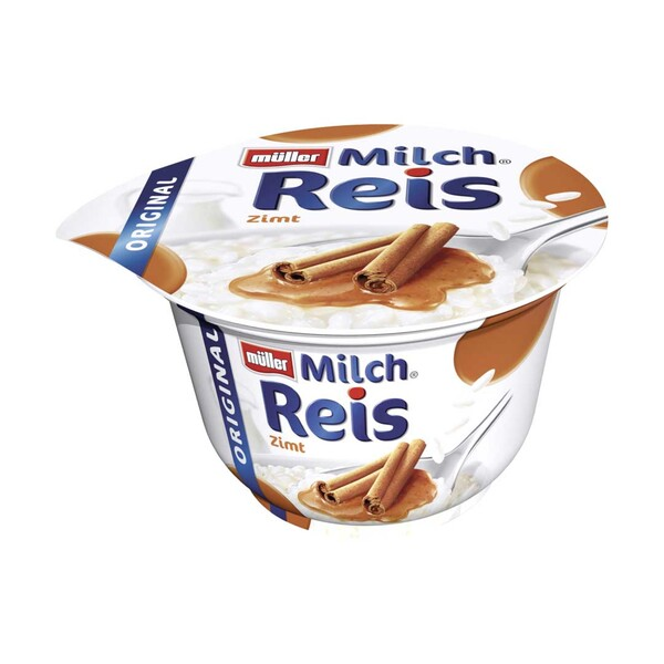 Müller Milchreis versch. Sorten, jeder 200-g-Becher