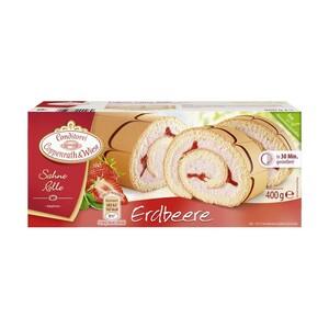 Coppenrath & Wiese Sahne Rolle  Erdbeere oder Zitrone gefroren, jede 400-g-Packung und weitere Sorten