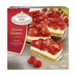 Coppenrath & Wiese  Lust auf Kuchen Erdbeer Cheesecake oder Feiner Apfel gefroren, jede 550/580-g-Packung und weitere Sorten