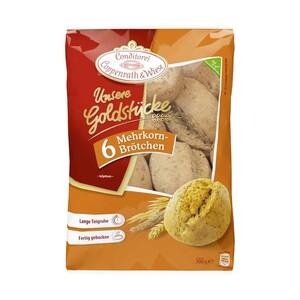Coppenrath & Wiese Unsere Goldstücke Weizenbrötchen oder Mehrkornbrötchen gefroren, jeder 300/450-g-Beutel und weitere Sorten