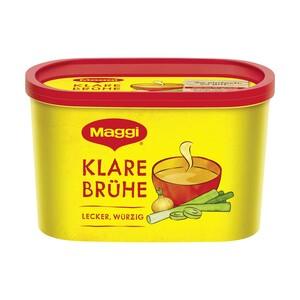 Maggi Gemüsebrühe, Klare Fleisch Suppe, Klare Brühe oder Klare Hühner Bouillon Suppen für 11 bis 19 Liter, jede Dose