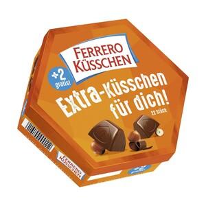 Ferrero Küsschen + 2 gratis, jede 195-g-Packung
