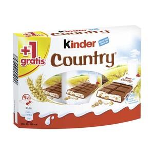 Kinder Country 9er + 1 gratis , jede 235-g-Packung
