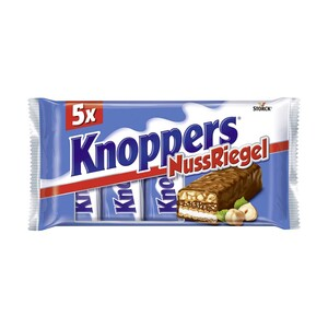 Knoppers Nussriegel 5er, jede 200-g-Packung