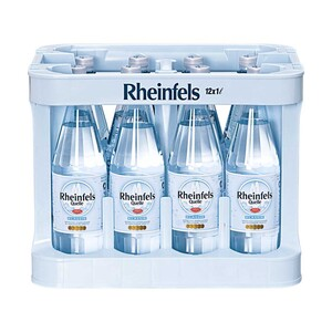 Rheinfels Quelle versch. Sorten, 12 x 1 Liter, jeder Kasten