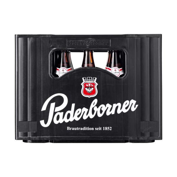 Paderborner Pilsener und weitere Sorten, 20 x 0,5 Liter, jeder Kasten