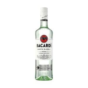 Bacardi Rum Carta Blanca oder Oakheart 37,5/35 % Vol.,  und weitere Sorten,  jede 0,7-l-Flasche