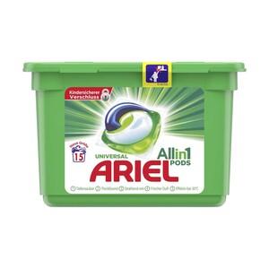 Ariel Waschmittel 15/18/20 Waschladungen, versch.Sorten, jede Packung/Flasche