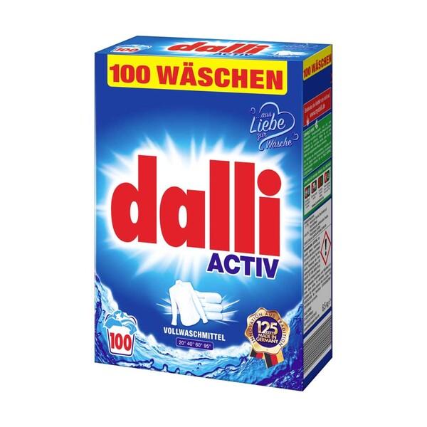 Dalli Waschmittel 100 Waschladungen, versch. Sorten, jede Packung