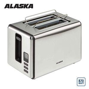 Toaster TA 2200 S · Auftau-, Aufback- und Unterbrechungsfunktion · elektronische Röstgradkontrolle · automatische Brotzentrierung für gleichmäßige Bräunung