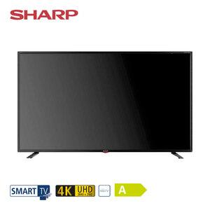 55BJ3E • 3 x HDMI, 3 x USB, CI+, SD-Kartenslot • geeignet für Kabel-, Sat- und DVB-T2-Empfang • Maße: H 71,8 x B 123,9 x T 8,3 cm • Energie-Effizienz A (Spektrum A++ bis E), Bildschirmdiago