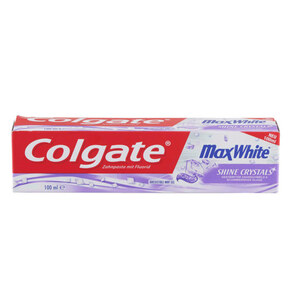 "Colgate Zahnpasta ""Max White Shine Crystal Mint"" 100 ml"