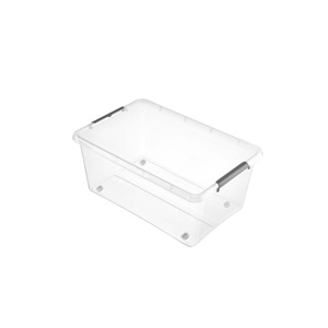 keeeper Aufbewahrungsbox Clipbox mit Rollen 40 Liter