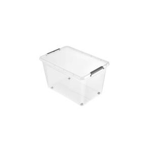 keeeper Aufbewahrungsbox Clipbox mit Rollen 60 Liter