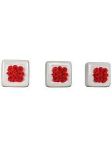 Infinity-Bloom  »Infinity-Bloom«, - Rosen in Keramik, max. Wuchshöhe: 16  cm, mehrjährig