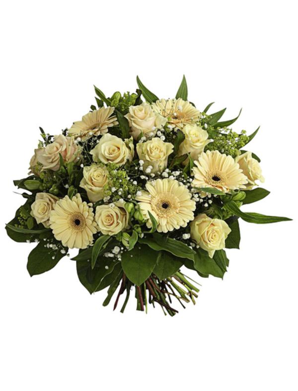 blumenstrauß mit rosen germini Ø 3842 cm von hagebau