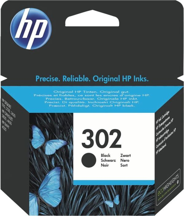 Hewlett Packard F6U66AE HP 302BK