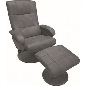 Alpha Relax Massagesessel 7050 mit Heizfunktion in grau