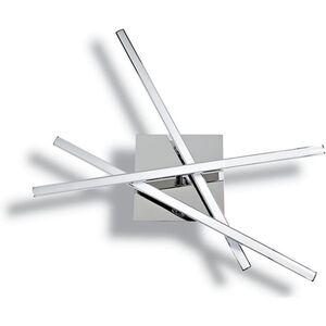 starQ Deckenleuchte Modern, mit 3 LED Stäben