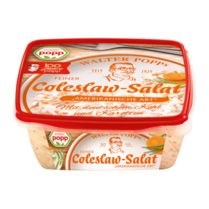 popp Coleslaw-Salat