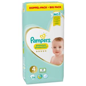 Pampers Premium Protect Gr.4 9-14kg 54 Stück