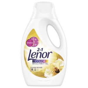 Lenor 2 in 1 Colorwaschmittel Flüssig Goldene Orchidee 18 WL 0.99 l