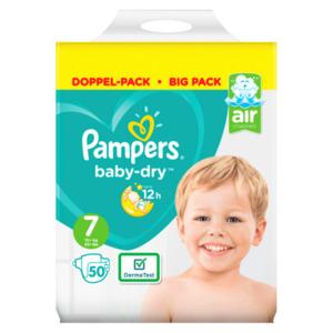 Pampers Baby Dry Gr.7 15+kg 50 Stück