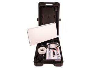 MicroM Satellitenanlage HD Traveller Kit Easyfind mit HD Camping Receiver