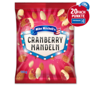 MIKE MITCHELL'S Cranberry Mandeln