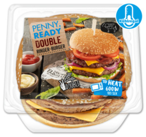 PENNY READY Double Rinder Burger