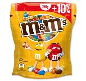 M&M's Peanut oder Choco