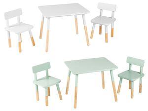LIVARNO LIVING®  Kinder Sitzgruppe, 3-teilig, aus massivem Kiefernholz