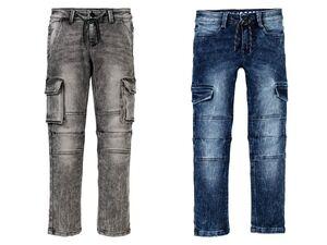 PEPPERTS®  Jeans Jungen, schmal geschnitten im Cargo-Style, mit Baumwolle