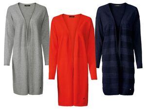 ESMARA®  Cardigan Damen, aus Strukturstrick, mit Zierplakette, mit Baumwolle, Viskoseanteil
