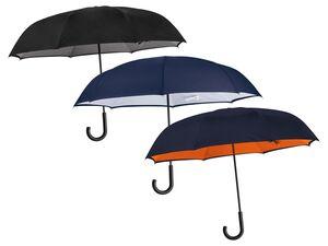 TOPMOVE®  Regenschirm, 106 cm Durchmesser, mit Fiberglas-Schienen, strapazierfähig