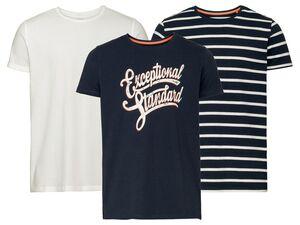 LIVERGY®  T-Shirt Herren, mit Bio-Baumwolle