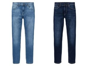 LIVERGY®  Jeans Herren, Slim Fit, mit normaler Leibhöhe, mit Bio-Baumwolle