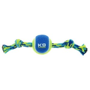 ZS K9 Seil mit Knoten + Tennisball