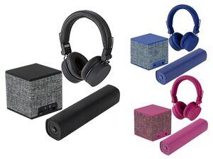 SILVERCREST®  Technik Geschenkset, mit On-Ear-Kopfhörer, Bluetooth-Box und Powerbank