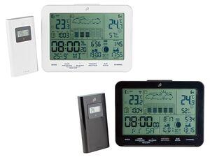 AURIOL® Funk-Wetterstation, 100 m Reichweite, für Innen- und Außentemperatur