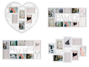 MELINERA® Bilderrahmen Collage, zum Aufhängen, mit Schnellverschlüssen